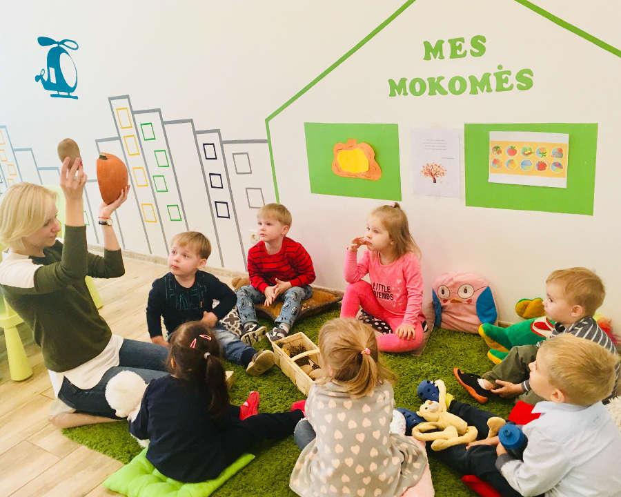 Valandinė vaikų priežiūra Vilniuje